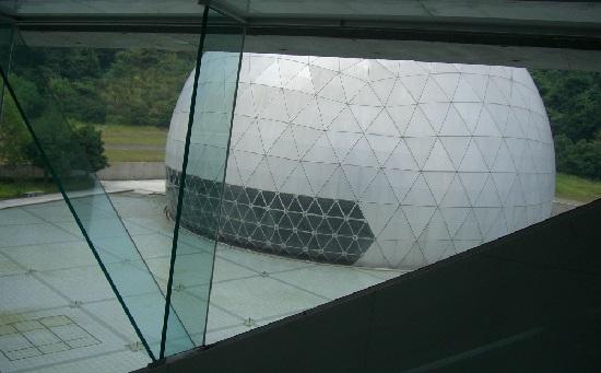 愛媛県総合科学博物館のプラネタリウム