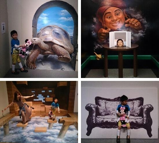 愛媛県総合科学博物館「特別展」トリックアート展