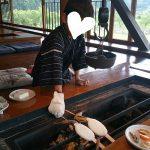 「囲炉裏焼きあなみ」でランチ~子どもに体験してもらいたいこと in 津山(阿波)