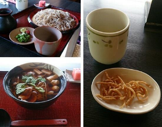 「そば処秀峰」蕎麦ランチ