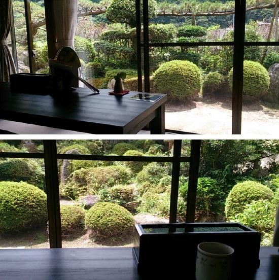 「そば処秀峰」のお庭(ガーデン)