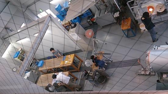妖精の森ガラス美術館(鏡野町)のウランガラス体験