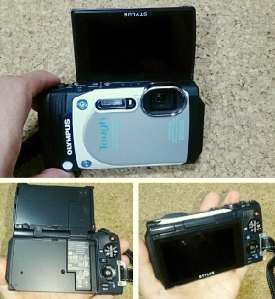 防水デジタルカメラTG-870
