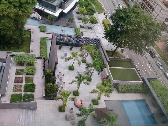 ラマダシンガポールホテル(Ramada Singapore at Zhongshan Park)のプール