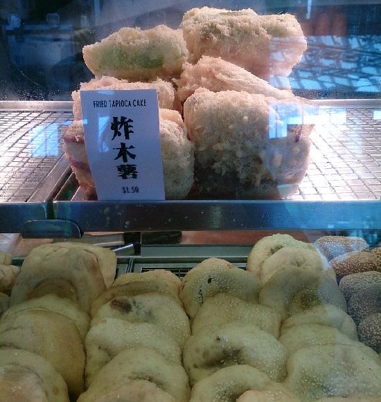 シンガポールFood Republic(フードリパブリック)のタピオカフライ(Fried Tapioca Cake)