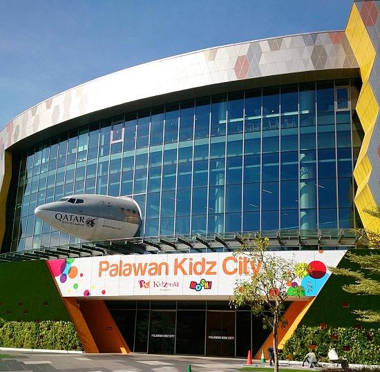 シンガポールセントーサ島のPalawanKidsCity(キッザニア)