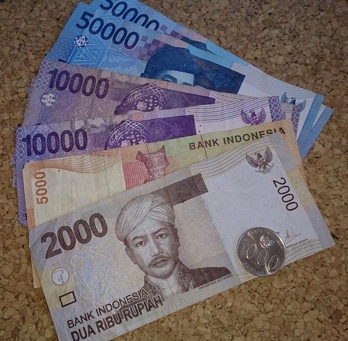 インドネシアのお金(インドネシアルピア)