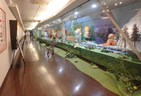 タオル美術館(今治タオル工場見学)ムーミンの世界展