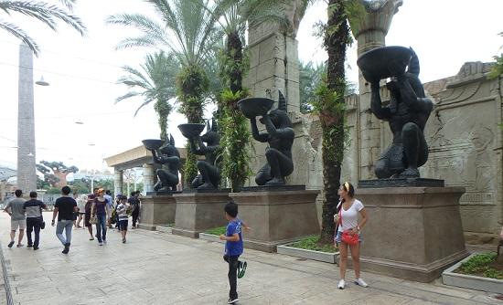 ユニバーサルスタジオ シンガポールのAncient Egypt(古代エジプト)エリア
