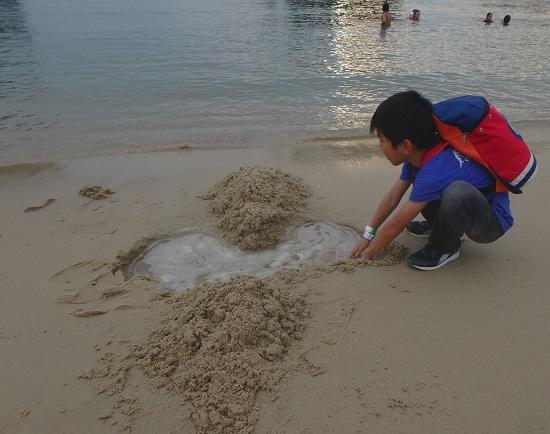 シンガポールセントーサ島のシロソビーチ