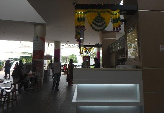 シンガポールフライヤーチケットセンターにあるコーヒーショップ