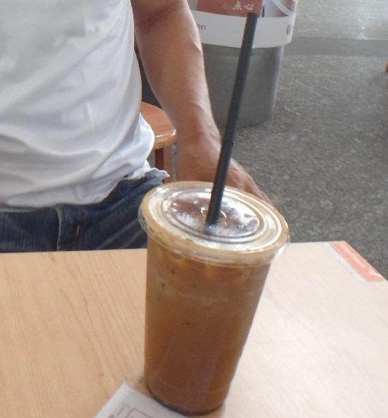 シンガポールフライヤーチケットセンターにあるコーヒーショップの珈琲