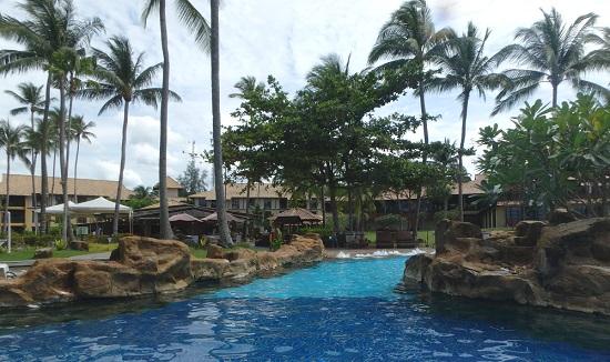 ビンタン島(インドネシア)ニルワナビーチリゾートのプール