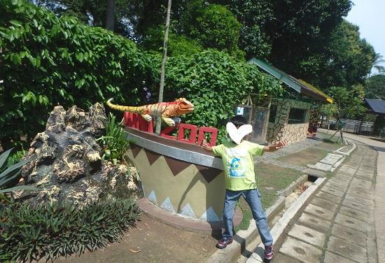 ビンタン島(インドネシア)ニルワナビーチリゾートのミニ動物園