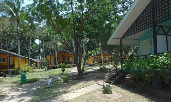 ビンタン島(インドネシア)ニルワナビーチクラブのコテージ