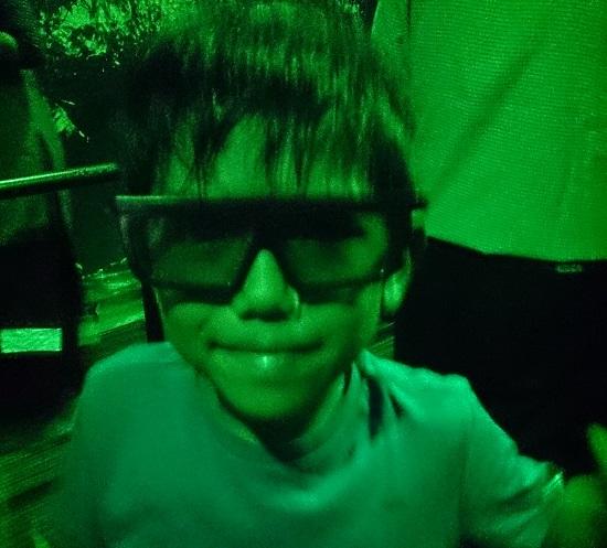 セントーサ4Dアドベンチャーランド(シンガポール)専用メガネ