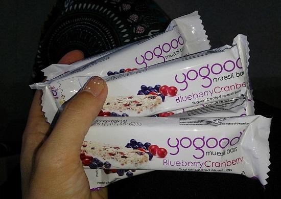 シンガポールのお菓子yogood