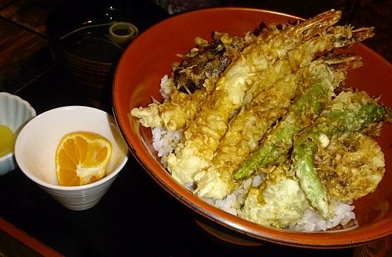 日本料理「ちよ田」のランチ(天丼)