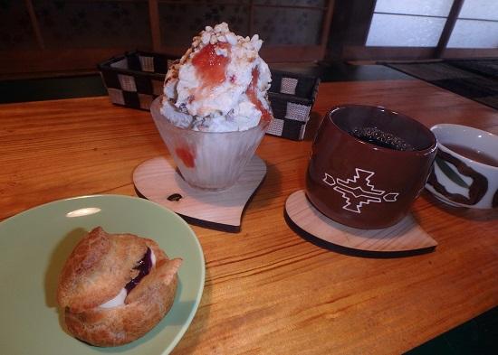 古民家カフェ「おおきな木」デザート