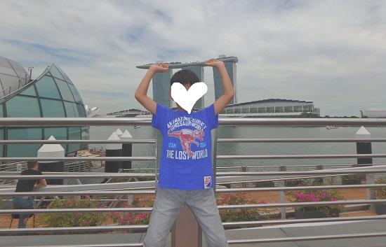 シンガポールマリーナエリアのマリーナベイサンズ