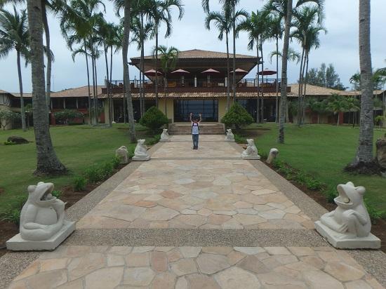 ビンタン島(インドネシア)ニルワナビーチリゾートの庭・ガーデン