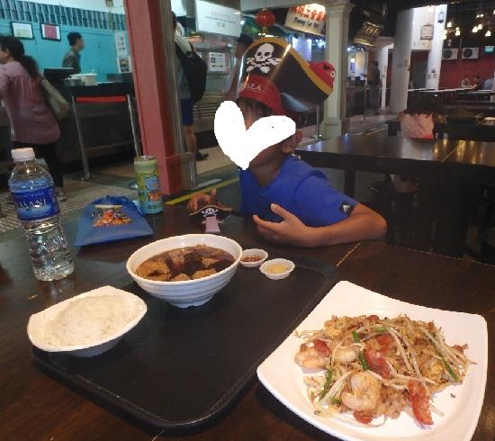 マレーシアンフードストリート(シンガポール)の料理