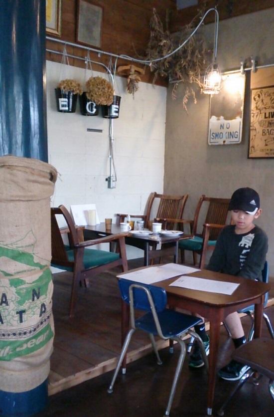 グリーンデイズカフェのキッズ席