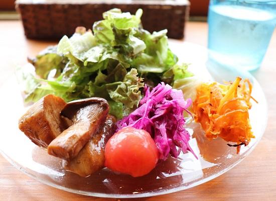 ユクルテラスのランチ(前菜)