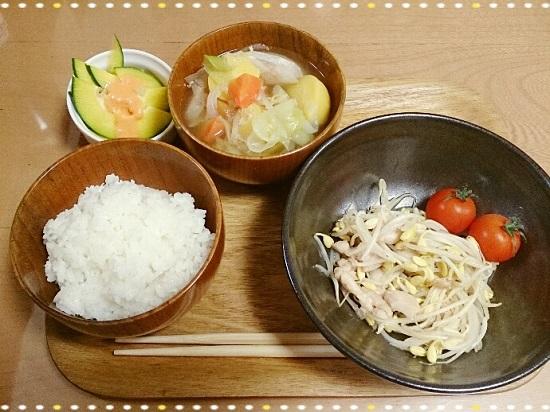 野菜宅配「oisixオイシックス」で作った健康的な夕食
