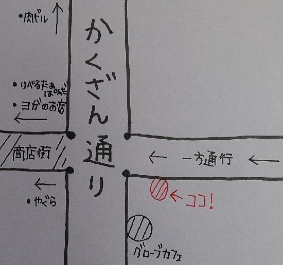 ビフトロ櫓の地図