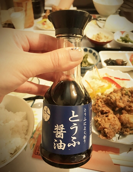早瀬豆富店(豆腐屋さん)とうふランチ