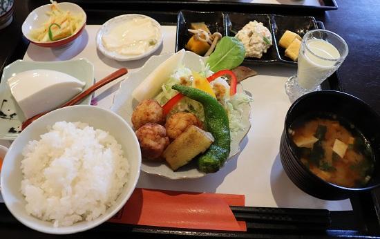 早瀬豆富店(豆腐屋さん)ランチ