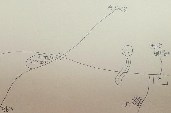 洋食親爺のライスハウスの地図