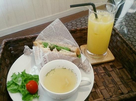 GardenCafeMOCO(ガーデンカフェ モコ)モーニング