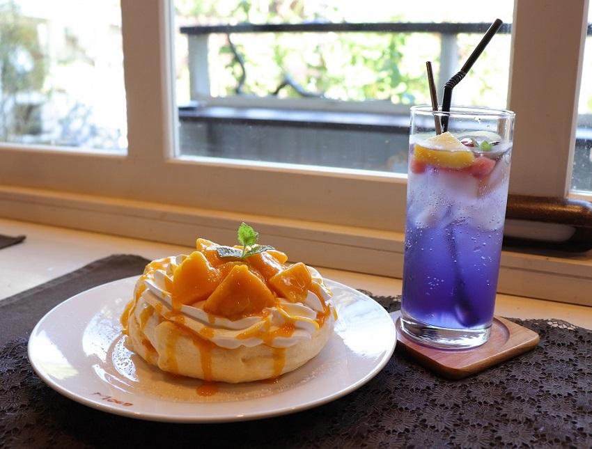 GardenCafeMOCO(ガーデンカフェ モコ)パンケーキ