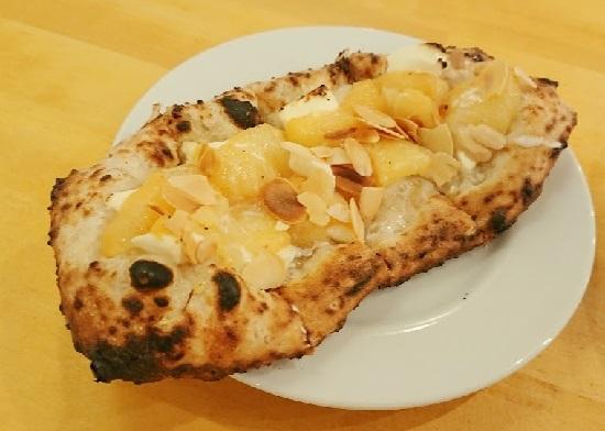 Pizza Borsalino(ボルサリーノ)のデザートピザ
