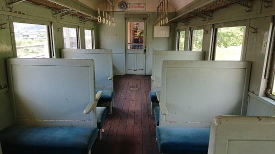 ホハフ2004 列車内
