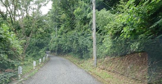 板井原集落までの道のり