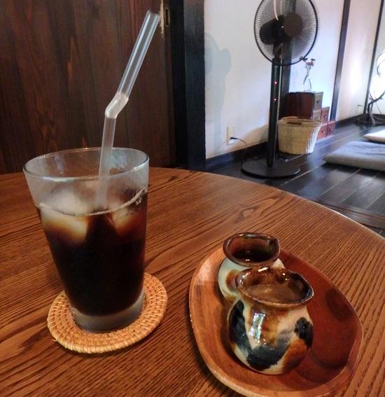 古民家カフェ「歩とり」コーヒー