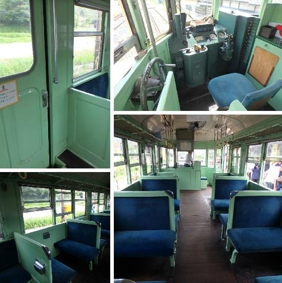 キハ702 列車内・運転席