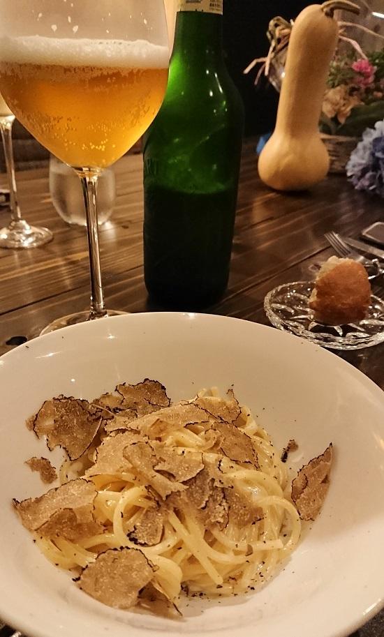イタリア食堂アモーレのディナー(パスタ)