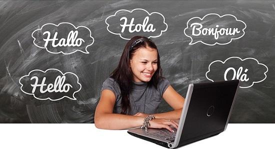 オンラインの英会話レッスン