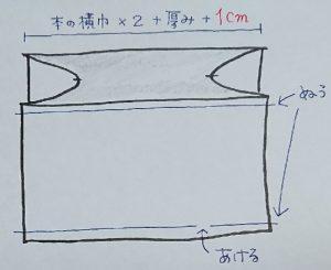 手作りブックカバーの作り方