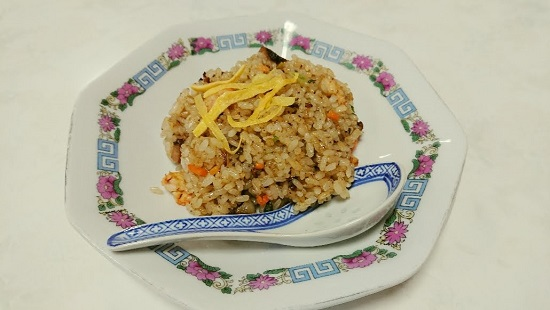 中華料理「東姫楼」チャーハン