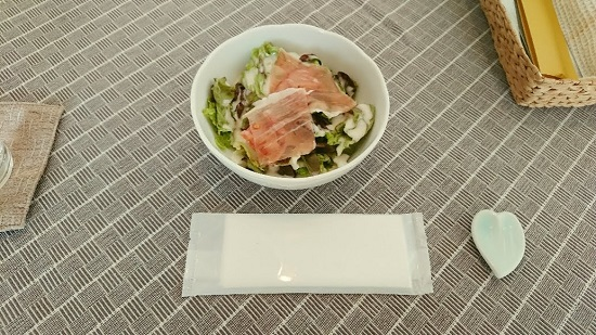 イタリアンOsteria Uno(オステリア ウーノ)ランチのサラダ