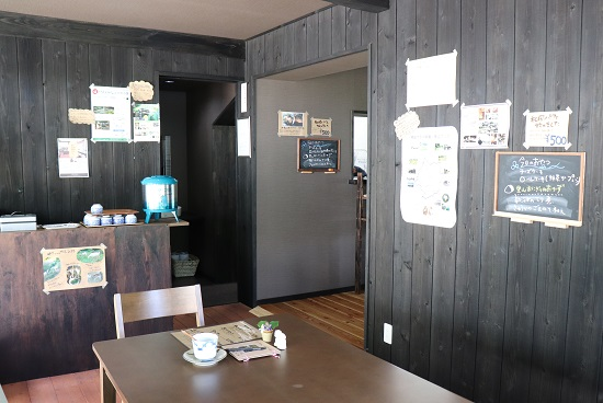 棚田テラス 籾庵(もみあん)店内