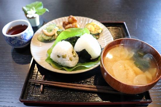 棚田テラス 籾庵(もみあん)おにぎりセット