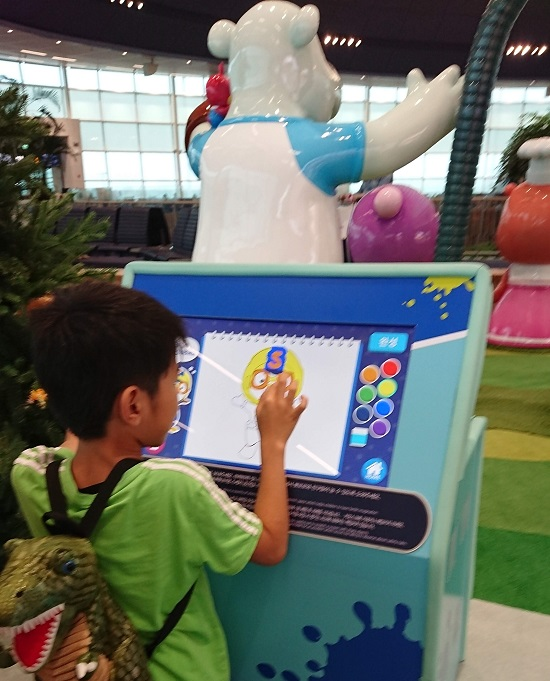 仁川空港第二ターミナルのキッズエリア