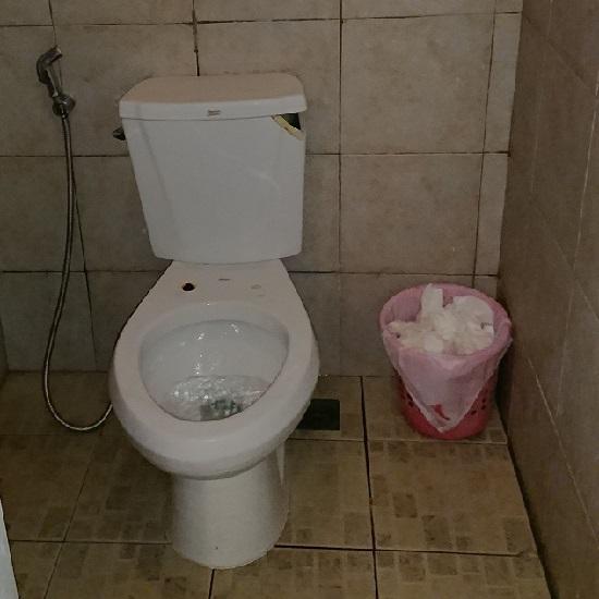 フィリピンセブのトイレ