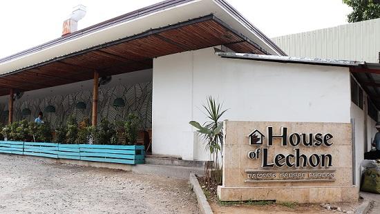 House of Lechon(ハウスオブ レチョン)セブの外観
